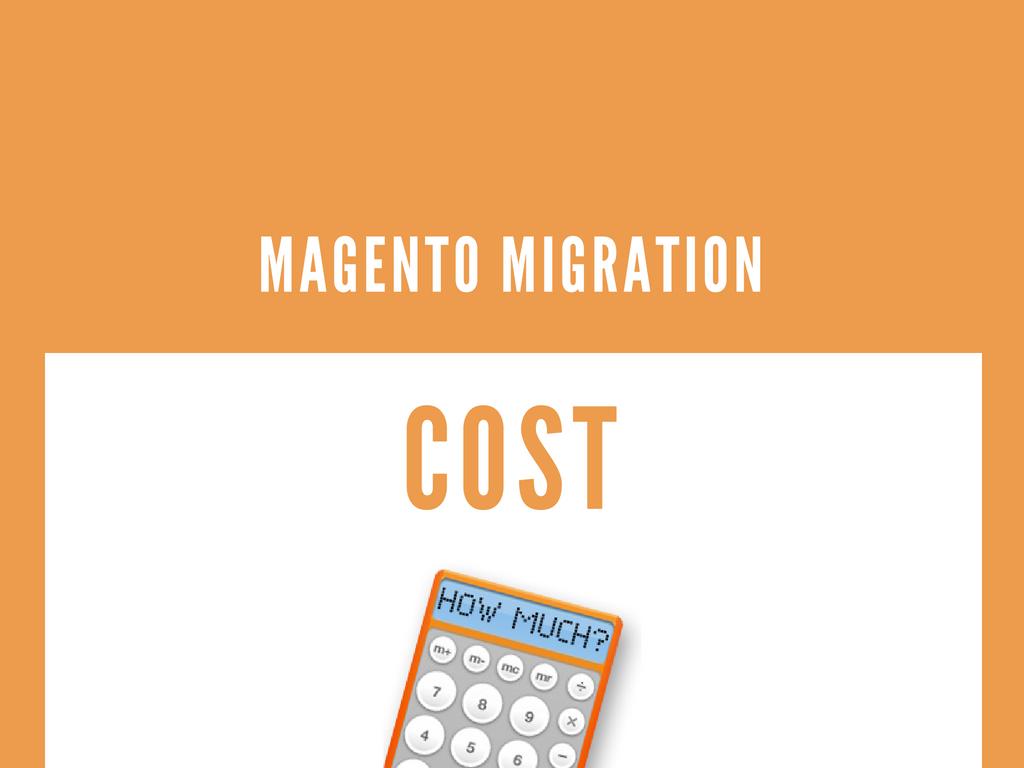 magento 1到magento 2的迁移成本
