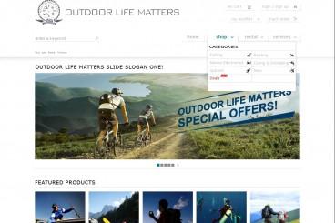 Myoutdoors户外装备在线交易平台