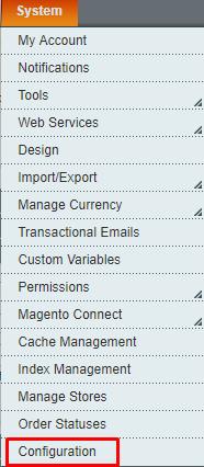 system-config magento admin url
